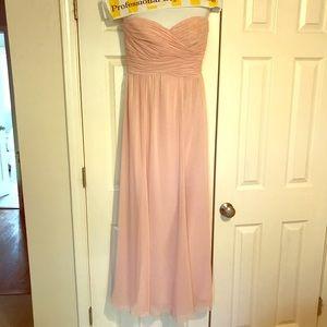 Ralph Lauren light pink floor length dress